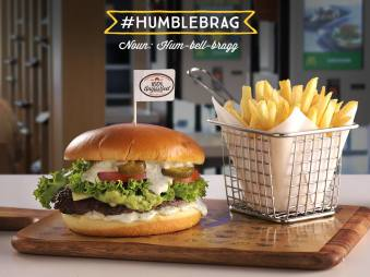 CYT Burger as shown on the Maccas Facebook page
