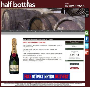 Half Bottles AU